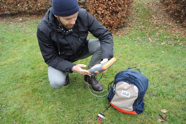 TDR - Soil moisture measurement - Allegro2